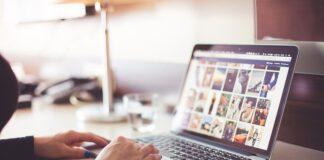 laptop, zakupy