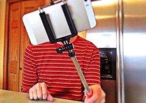 selfie stick, zakupy